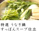 特選 うなぎ鍋 すっぽんスープ仕立